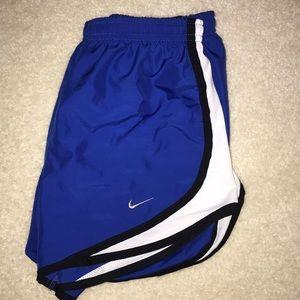 Blue Nike Tempo shorts